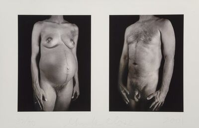 Chuck Close, 'Untitled, from Doctors of the World', 2001