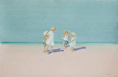 Dalva Duarte, 'Beach Scene II', 1980-1990