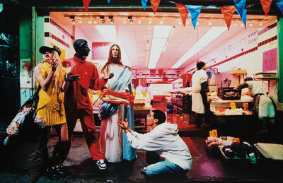 David LaChapelle, 'Loaves & Fishes (from Jesus is my Homeboy)', 2008