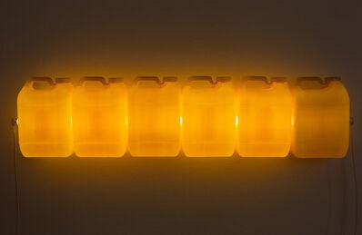 Bill Culbert, 'Strait (Yellow)', 2015