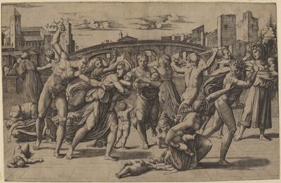 Marcantonio Raimondi after Raphael, 'The Massacre of the Innocents', ca. 1511