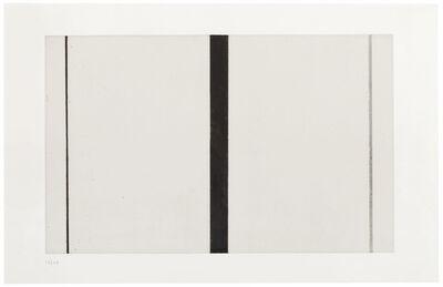 Barnett Newman, 'Untitled Etching I', 1969