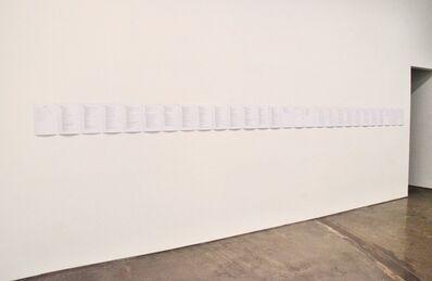 Julian Dashper, 'Untitled (C.V.) 1979-2019', 2019
