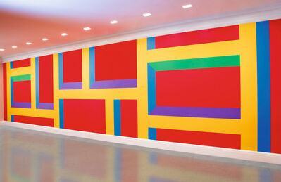 Sol LeWitt, 'Wall Drawing #1093: Bars of Color'