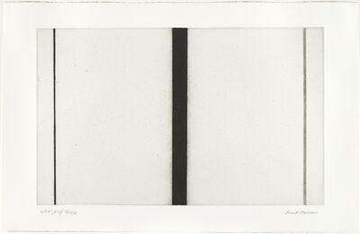 Barnett Newman, 'Untitled Etching #1', 1969
