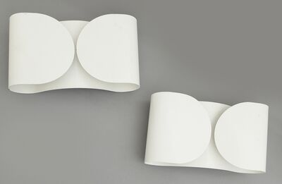 Tobia Scarpa, 'Two wall lamps 'Foglio' for FLOS', 1966