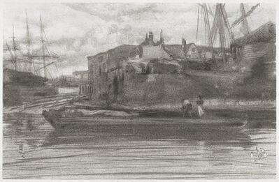 James Abbott McNeill Whistler, 'Limehouse', 1878