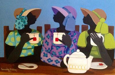 Cassandra Gillens, 'Having Tea', 2015