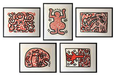 Keith Haring, 'LUDO', 1985