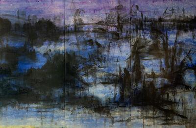 Feng Xiao Min, 'Blue rhapsody (Triptyque)', 2009