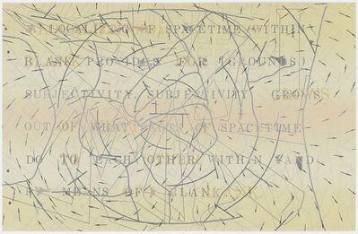 Shusaku Arakawa, 'The Sharing of Nameless'