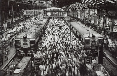 Sebastião Salgado, 'Churchgate Train Station, Bombay, India', 1995