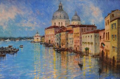 Stacy Barter, 'Evening comes to Venice'