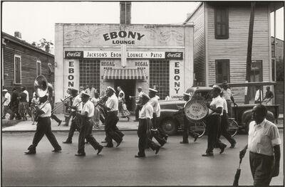 William Claxton, 'George Williams Brass Band, New Orleans', 1960