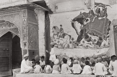 Henri Cartier-Bresson, 'Pavement School, Jaipur, India', 1948