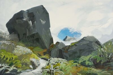 Mike Glier, 'March 7, 2012: Mt. Xenicus, New Zealand'