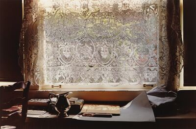 William Eggleston, ''Lace Curtain''