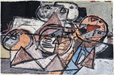 Guillaume Corneille, 'Vintage Scandinavian Corneille Art Rug', ca. 1980
