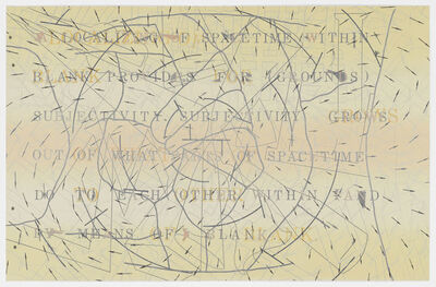 Shusaku Arakawa, 'The Sharing of Nameless', 1984-1986