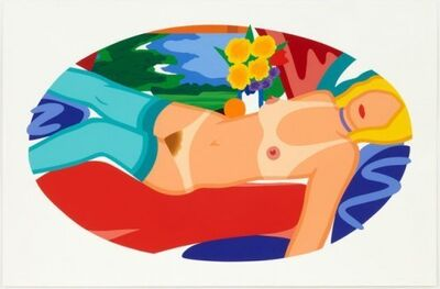 Tom Wesselmann, 'Beautiful Bedroom Kate', 1998