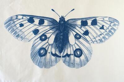 Penelope Stewart, 'Papillion (phthalo blue)', 2018