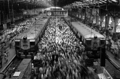 Sebastião Salgado, 'Churchgate Station, Bombay, from Migrations', 1995