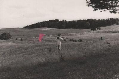 Maria Pinińska-Bereś, 'Landscape Annexation, Świeszyno near Miastko, autumn 1980, ', 1980