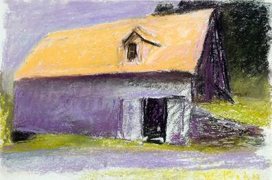 Wolf Kahn, 'Fresh Cedar Shingles on the Barn's Roof', 2008