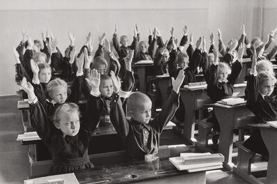 Henri Cartier-Bresson, 'School children, Moscow, USSR', 1954