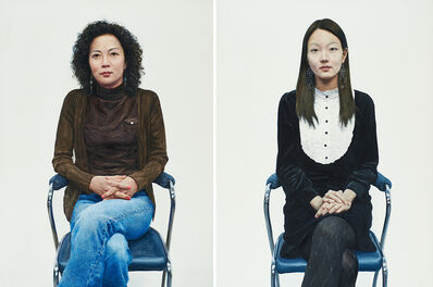 Kwang-ho Lee, 'Two works of art: Na Su-Mi; Kim Yeo-Woon'
