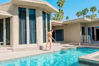 Matt Henry, 'Twin Palms #19, Naked Pool Boy (2016)'