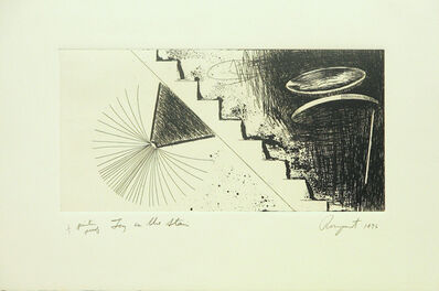 James Rosenquist, 'Toy On Stairs', 1976