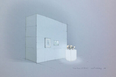 Wah Nu and Tun Win Aung, 'Sketch for Three Pieces (of White)', 2012-2013