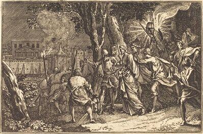 after Sébastien Le Clerc I, 'The Arrest of Christ'
