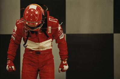 Mikael Jansson, 'Schumacher, Indianapolis #25', 2003