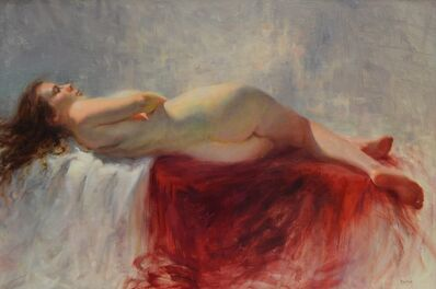 Stacy Barter, 'Cascading Crimson'
