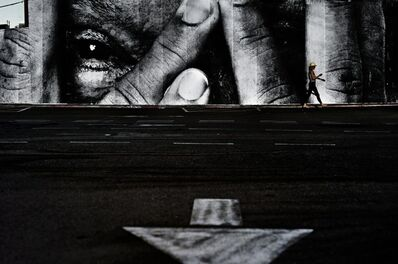 JR, 'The Wrinkles of the City, Los Angeles, West Hollywood, USA', 2011