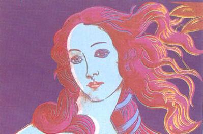 Andy Warhol, 'Sandro Botticelli, Birth of Venus FS317', 1984