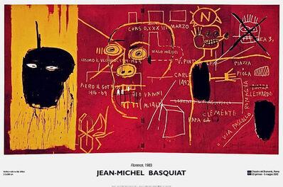 Jean-Michel Basquiat, 'Florence (1983) exhibition poster', 2002