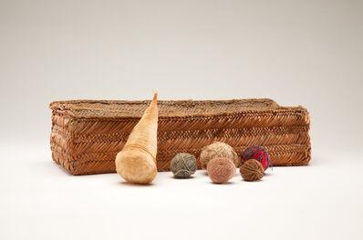Andean artisan, 'Peruvian Textiles Workbasket', Pre, Columbian, date unknown