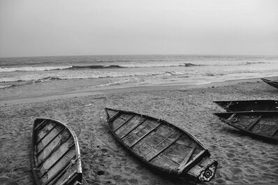 "Mohan Lal Majumder, 'Sea Beach, Black and White Photography, Indian Artist"" In Stock""', 2011"