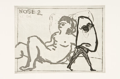 William Kentridge, 'Nose 2', 2007