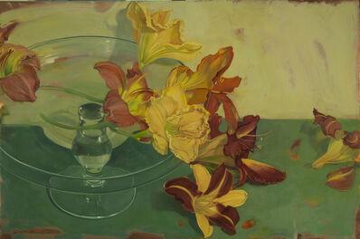 Benjamin J. Shamback, 'Day Lilles and Cake Plate', 2013