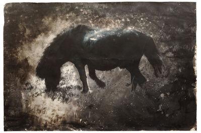 Johannes Brus, 'Blaues Pferd', 1979