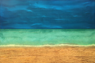 Timothy Allan Shafto, 'Relaxing in the Sand', 2016