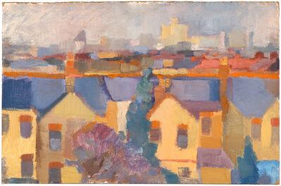 Bernard Myers, 'Houses, Windsor', Painted circa 1956-57