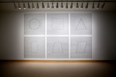Sol LeWitt, 'Wall Drawing 340A', 1993
