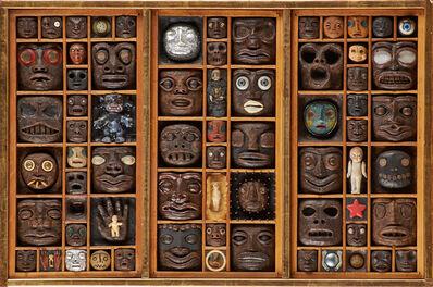 Jackie Ferrara, 'Untitled (Faces)'