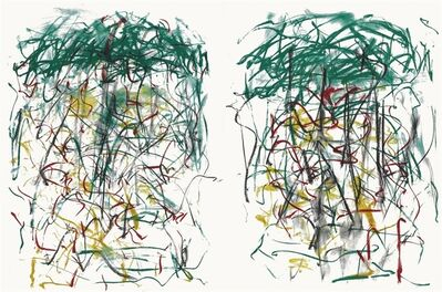 Joan Mitchell, 'Sunflower I (diptych)', 1992