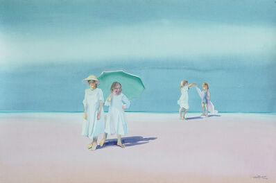 Dalva Duarte, 'Beach Scene I', 1980-1990